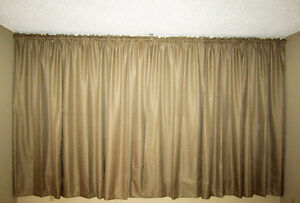 = = = BLACKOUT CURTAIN PANELS - - 84 in. X 84 in. EACH PAIR = =