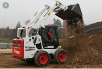 Bobcat services _ concrete work