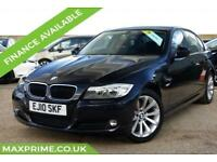 2010 10 BMW 3 SERIES 2.0 PETROL 318I SE PHANTOM BLACK 2 OWNERS + JUST SERVICED