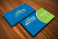 Logos, business cards, flyers, brochures, signs!