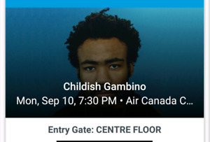 Childish Gambino tickets (2)