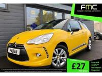 2011 61 Citroen DS3 1.6e-HDi ( 90bhp ) Airdream DStyle **FULL SERVICE HISTORY**