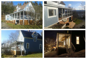 Beautiful Renovated Home on 4.76 Acres with View of SJ River!