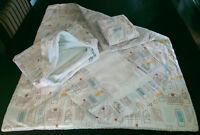 Ensemble de literies pour bébé/housse table à langer/serviette