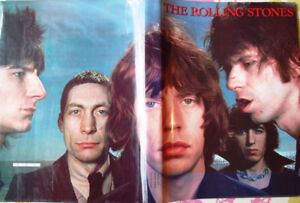 Rolling Stones 1st 20 years history with 200 pictures, 250 pages