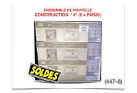 """(447-6)  ENSEMBLE DE NOUVELLE CONSTRUCTION (4"""")  {6x PAR20} 79$"""