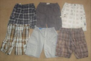 BOYS SIZE 6/7 BRAND NAME SUMMER CLOTHING LOT