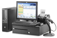 HP rp5700 Point Of Sale Front Till & ASUS Back Office System