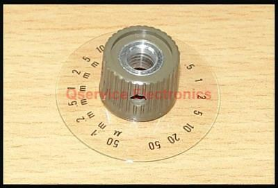 1 Pc Tektronix Knob With Dial 5000 Series Oscilloscopes Id Q000166