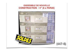 (447-6)  ENSEMBLE DE (6x) LUMINAIRES ENCASTRÉS  79.99$ /ch.