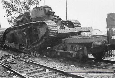 "WWII Photo  French tank Char 2C No. 91 ""Provence"" World War/ 94f"