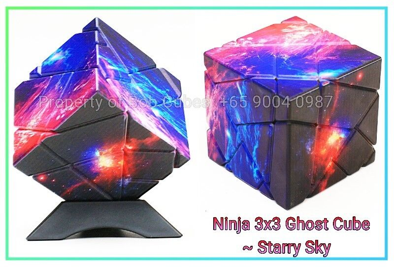 - Ninja 3x3 Ghost Cube Starry Sky for sale in Singapore