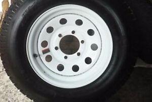 5 rimes roulotte/remorque 15 pce/4 cap roues rime 6 trousBP 51/2
