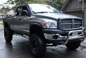 2007 Dodge Power Ram 1500 SLT Pickup Truck LIFTED RIMS EXHAUST Stratford Kitchener Area image 1