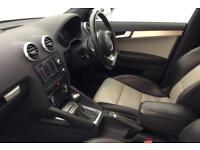 Black AUDI S3 SALOON 2.0 T FSI Petrol QUATTRO FROM £72 PER WEEK !