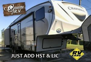 2016 Chaparral Lite 5th Wheel Bunk model - FIRE SALE!