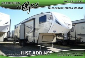 2017 Coachmen Chaparral Lite 5TH 28RLS - Nice smaller couple's f