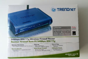 New Trendnet 54 Mbps Wireless Firewall Router