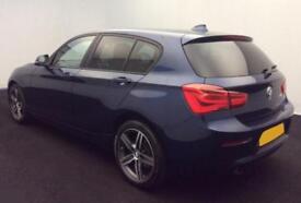 2015 BLUE BMW 118i 1.6 SPORT PETROL MANUAL 5DR HATCH CAR FINANCE FR £46 PW