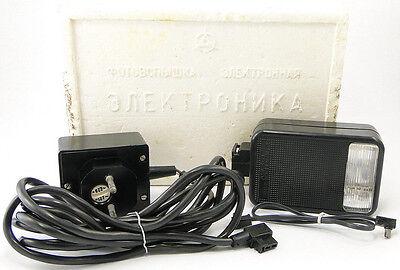 "Вспышки *RAREST* Vintage ""ELECTRONIKA-FE15U"" Russian Soviet"