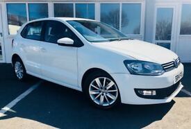 Volkswagen Polo SE 1.0 MPI 60 PS (white) 2014