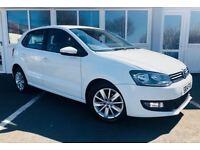 Volkswagen Polo SE 1.0 MPI 60 PS (white) 2014