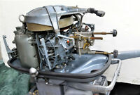 Two RARE 1957 ELTO 25 Horse Power vintage Outboard motors