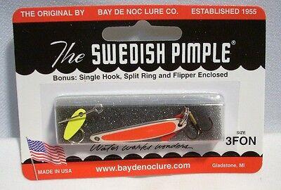 Bay De Noc Lures Swedish Pimple White Ice #7 7-WICE
