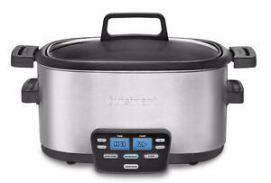 Cuisinart MSC-600 3-In-1 Cook Central 6-Quart Multi-Slow Cooker