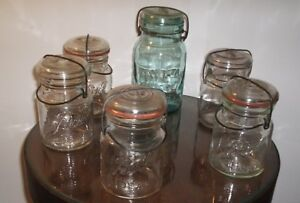 Assorted Collection of Ball and Atlas Glass Canning Jars