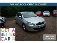 2014 Peugeot 308 1.6 HDi 92 Active 5dr - CAR IS £6399 - £41 PER WEEK HATCHBACK D