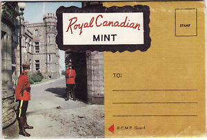Postcard set of Royal Canadian Mint