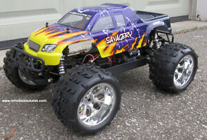 New RC Truck Brushless Electric 1/8 Scale TOP 2 LIPO 4WD RTR Kitchener / Waterloo Kitchener Area image 1