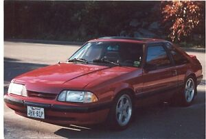 Ford Mustang 5.0 1987 - Exquisitely tight & responsive