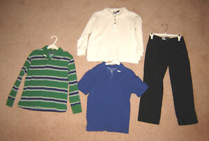 Boys Clothes, Jackets - sizes 7/8, 8, 10, 12 / Shoes sz 5, 6, 7