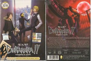 Japan Anime DVD Durarara!! Vol 1-24 End Complete New Box set English Audio