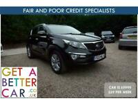 2013 Kia Sportage 2.0 CRDi KX-3 5dr - CAR IS £9999 - £69 PER WEEK ESTATE Diesel