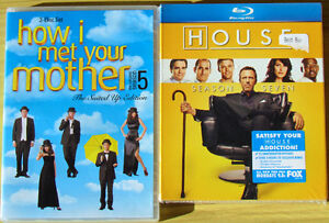 TV Series DVD's House/Unopened & How I Met Your Mother