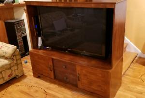 """Meuble tele 50"""" et moins / TV cabinet wall unit"""