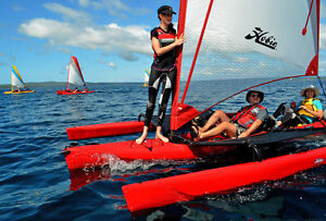 Hobie Cat Tandem Island Sailboat Kayak