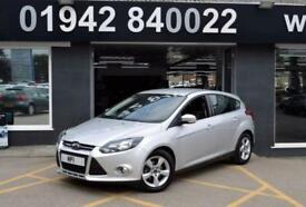2014/14 FORD FOCUS1.6 TDCI ZETEC NAVIGATOR 5D 113 BHP 6SP DIESEL HATCH , 1 OWNER