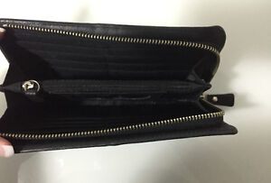 Fossil Maddox Black Leather Wallet Strathcona County Edmonton Area image 2
