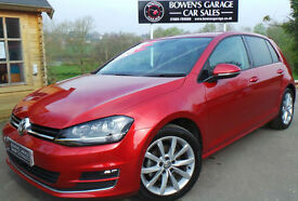 2013 (63) VOLKSWAGEN GOLF 1.4 TSI GT ACT B/TECH 5DR- 1 OWNER - LOW MILES - FVWSH