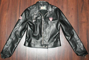 Subway Culture Ladies Leather Jacket