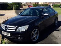 Mercedes C220 CDI 2008, Full Leather, Automatic, 1year MOT