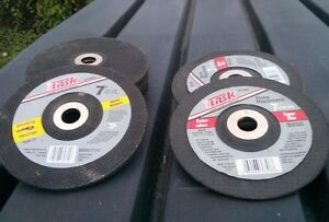 REDUCED! DISCS FOR ANGLE GRINDER – 7 INCH – NEW!