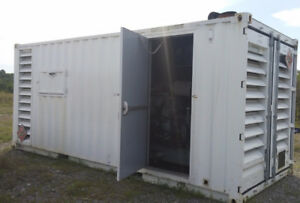 580 KW, 600 V Container Generator
