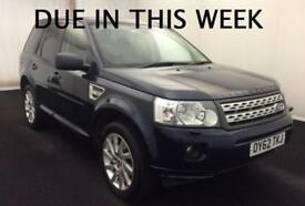 2012 (62) LAND ROVER FREELANDER 2 HSE 2.2 SD4 AUTOMATIC 4X4 TURBO DIESEL