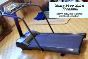 Treadmill Sears Free Spirit, full featured, excellent condition