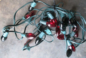 Christmas Lights 25 Bulbs (Red & Green) & 7.3m(24') long Stratford Kitchener Area image 2